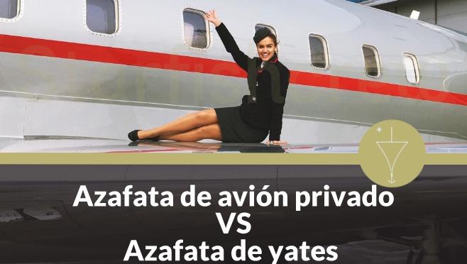 azafata de avion privado azafata de yates